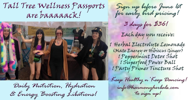 Tall Tree Wellness Passport 2017